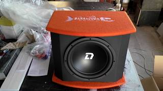 Активный сабвуфер DL Audio Barracuda 12A, распаковка, обзор, комплектация