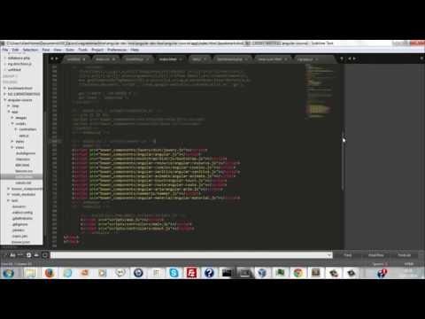 [ITA] AngularJS in 60 minuti (circa)  - Tutorial Completo - 1/2