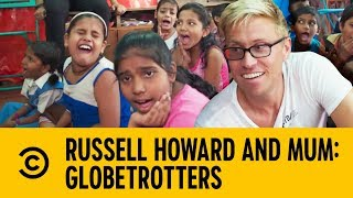 Teaching Kids How To Get Slapped | Russell Howard and Mum: GlobeTrotters