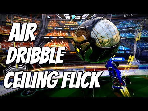 AIR DRIBBLE CEILING FLICK | Rocket League Goal of the Day #11 ( Best Goals / Highlights )