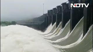 Karnataka Opens Dams As Water Level In Rivers Rises After Heavy Rain