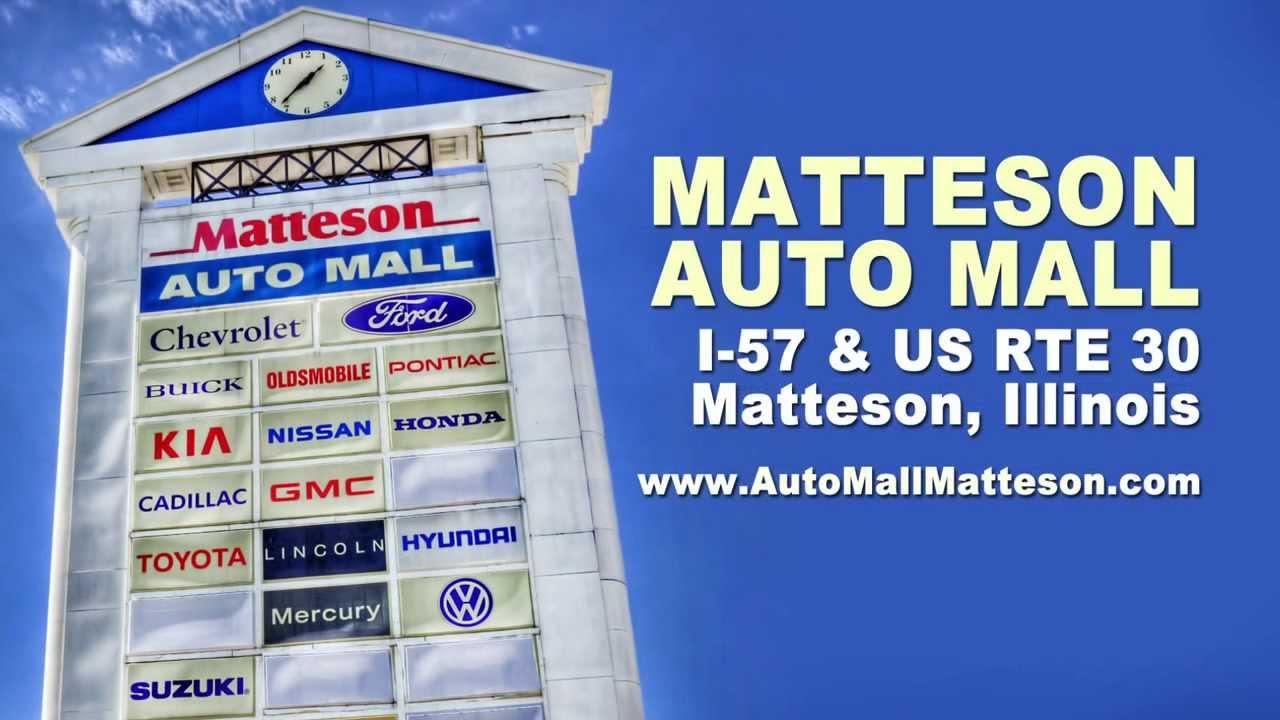Matteson Auto Mall >> Matteson Auto Mall At I 57 Ad Us 30 Near Chicago Illinois Youtube