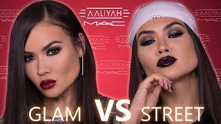 MAC X AALIYAH TUTORIAL - GLAM vs STREET | Maryam Maquillage