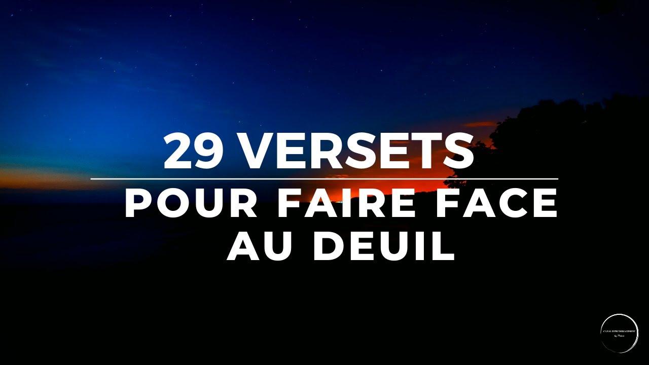 29 VERSETS POUR FAIRE FACE AU DEUIL