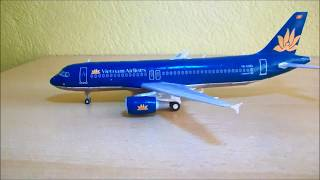 Vietnam Airlines - Airbus A320 Papercraft 1:120