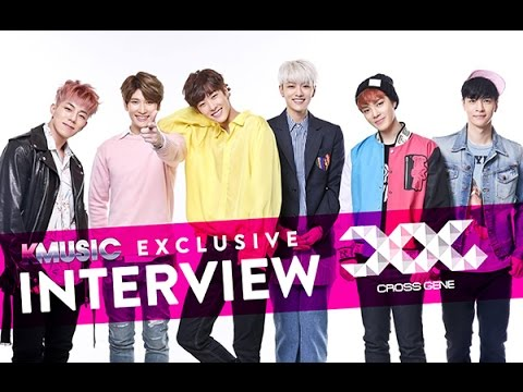Exclusive interview with Cross Gene in Singapore 2016 (Eng Subs)