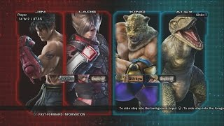 Tekken Tag Tournament 2 - PS3 - Lars and Jin Story Gameplay