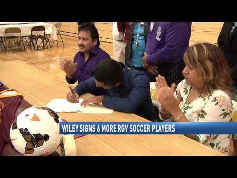 Wiley College Signs 6 More RGV Soccer Players