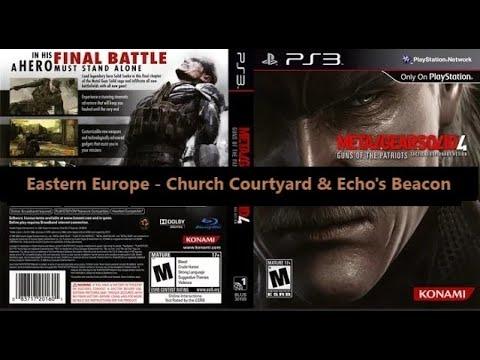 Metal Gear Solid 4 Guns of the Patriots - Eastern Europe - Church Courtyard & Echo's Beacon - 8