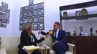 La denuncia de Armando Benedetti contra Cambio Radical, Vargas Lleras y el Fiscal Martínez