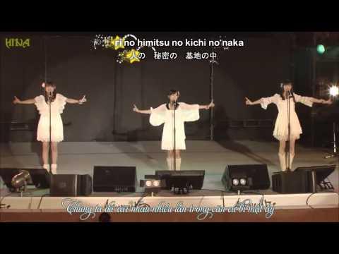 [Vietsub + Kara]Secret Base ~Kimi Ga Kureta Mono~ - Ai Kayano, Haruka Tomatsu, Saori Hayami