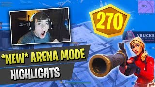 Mongraal & Mitr0 destroying *NEW* Arena Mode | Fortnite Battle Royale Highlights