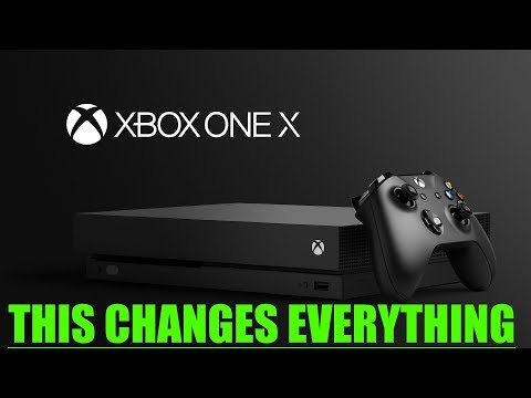 Xbox One X Gets The Most Surprising News Yet! This Is INCREDIBLE And Changes EVERYTHING!