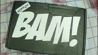 BAM BOX HORROR April 2018: EmGo's Bam Box Reviews N' Stuff