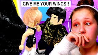 He Wants My Wings To Make Me Ugly!! Roblox Royale High Roleplay