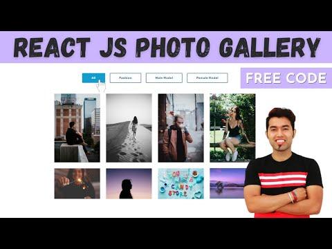 Create a Portfolio Filter Image Gallery in ReactJS in 2021
