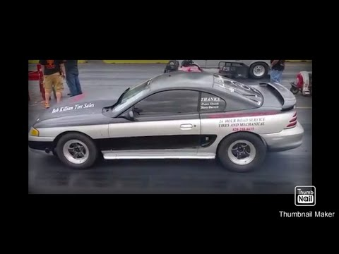 Shadyside sn 95 Mustang stock 302 on nitrous test and tune nc