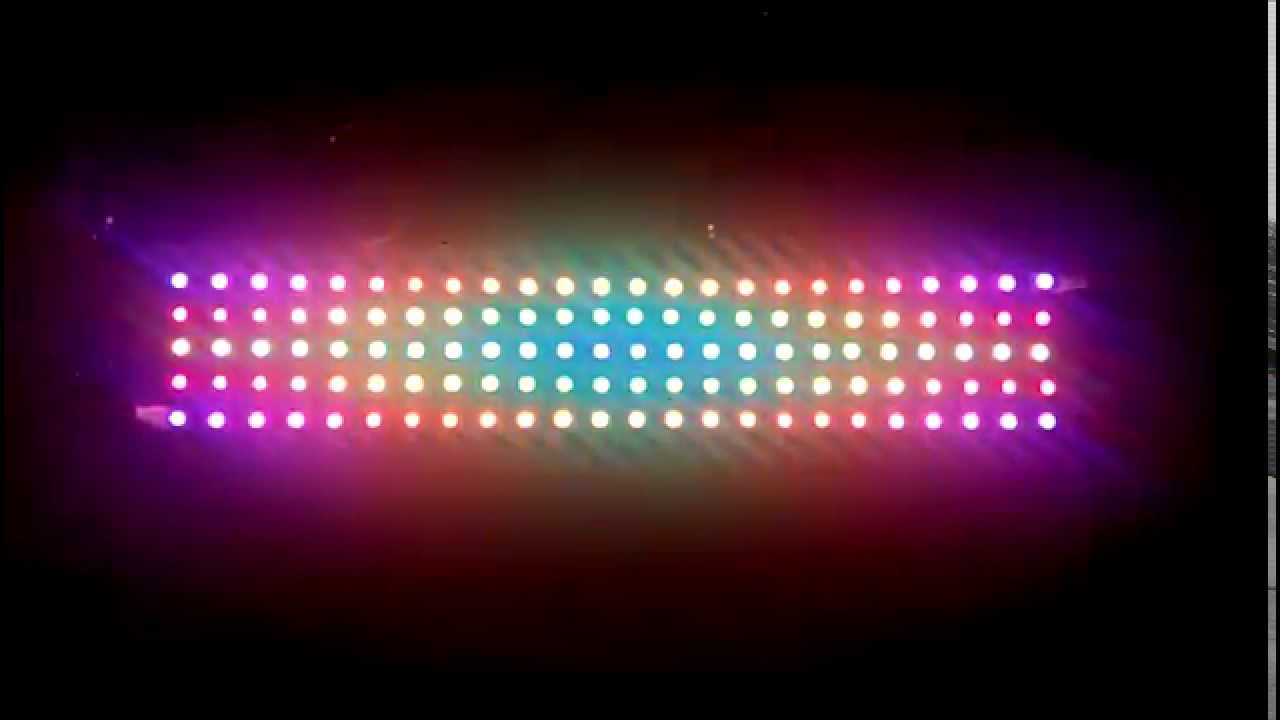 Juego Luces Led Programables Full Color Youtube