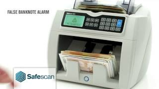 Safescan 2660 Banknote Counterfeit Detector and Note Counter at HuntOffice.ie