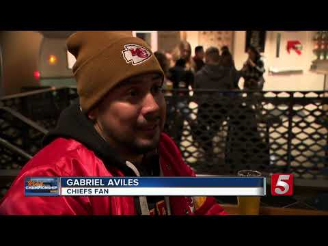 How fans are making the best of bad weather in Kansas City