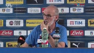 Conferenza Stampa Nazionale Di Calcio Under 21 | A Torre Del Grifo 02.09.2019 Paolo Nicolato