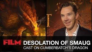 Peter Jackson & The Desolation Of Smaug cast talk Benedict Cumberbatch's dragon