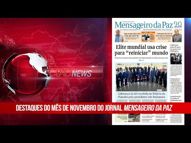 Boletim Semanal de Notícias - CPAD News 192