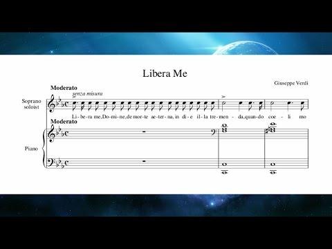 Giuseppe Verdi - Messa da Requiem - Libera Me (Video Score)