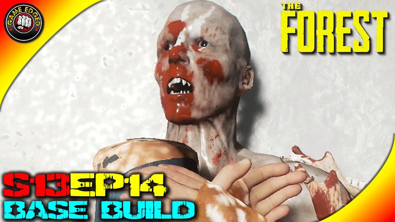 The Forest Gameplay - Base Build , Deer Carpet, Skull Lamps ...