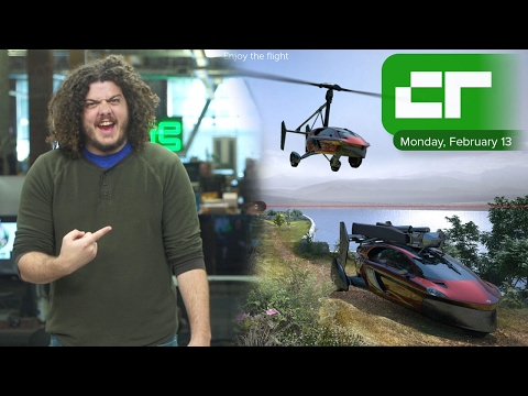 Flying Car for $400,000   Crunch Report