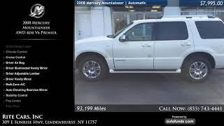 Used 2008 Mercury Mountaineer | Rite Cars, Inc, Lindenhurst, NY