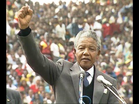 AFRIKA MAYIBUYE - Nelson Mandela - 1993 - Produced by Kevin Harris
