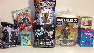 Blind Bags Roblox Five Nights at Freddy's Transformers Marvel KidRobot Toys Unboxing