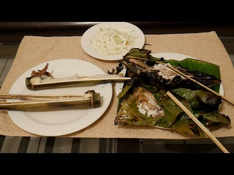 Key West Survival Jungle Cooking - Banana Leaf Fish & Bamboo Rice