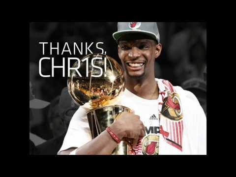 Chris Bosh waived by Miami Heat and his number is retired