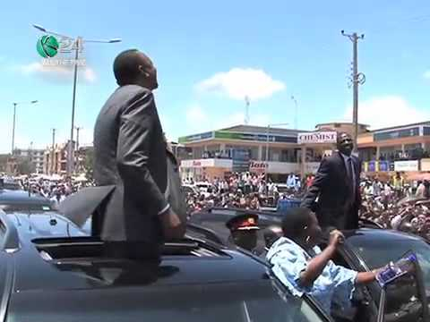 President Kenyatta Travels To Arusha, Tanzania By Road