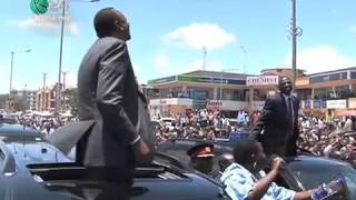 President Kenyatta Travels To Arusha, Tanzania By Road