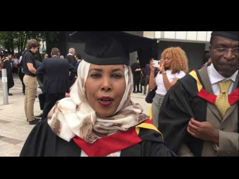 University Of Northumbria at Newcastle-Graduation Events July 2017.
