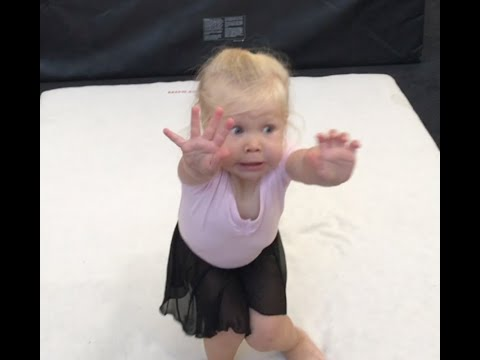 "Tony Sandoval on The Breeze - Little gymnast ""sticks the landing"" despite falling on her face"