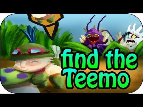 FIND THE TEEMO - Nidalee Speere treffen ins Ziel