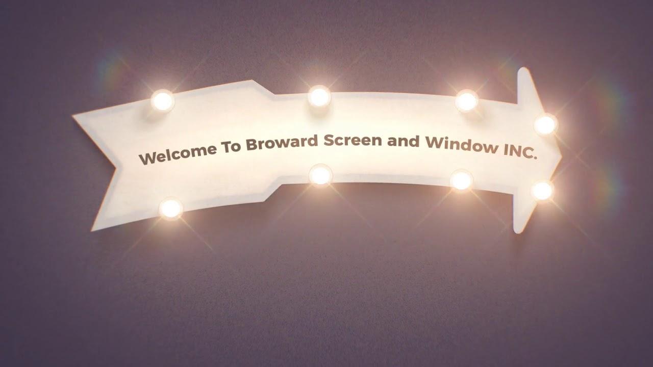 Broward Screen and Window Installation Service in Davie, FL