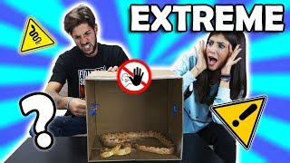 LA CHALLENGE PIU ESTREMA DI ITALIA - What's in the box?! #freelab
