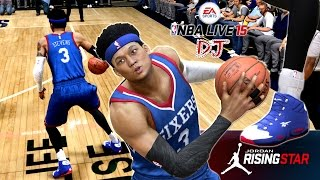 NBA Live 15 Jordan Rising Star - Did D.J. choose the Lakers or 76ers? | Possible 10 Day Contract?