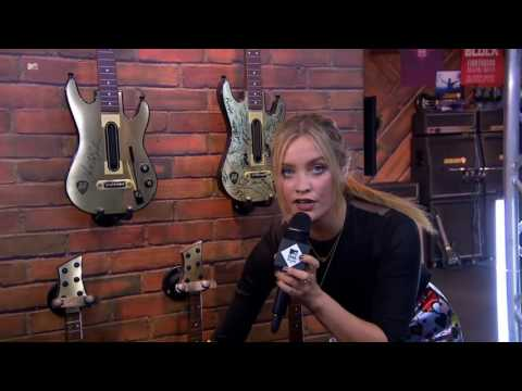 MTV Staying Alive Gold Guitars with Laura Whitmore