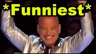 Top 3 FUNNIEST Auditions on America's Got Talent EVER!