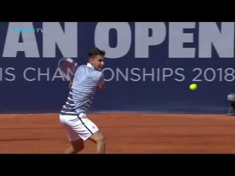 Dominic Thiem's Best Shots & Rallies vs John Millman | Hamburg 2018