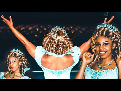 Crystal Rosas - First African American Female Plays 'Glinda' in Broadways' Wicked!