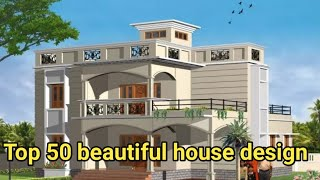 Top 50 beautiful houses designs images