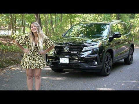 2020 Honda Pilot Black Edition Review & Test Drive | Honda Laura