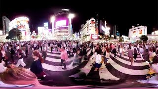 360° At One Of The Biggest Crosswalks In The World